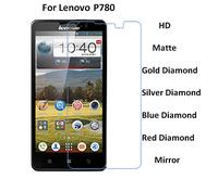 For Lenovo P780 HD/Matte/Diamond Screen Protector Film Free Shipping