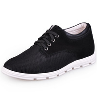 C156E_3 Hot Sale  New Arrival  Fashion  Men's  Casual Elevator  Shoes Gain  You 2.5 Inches Taller