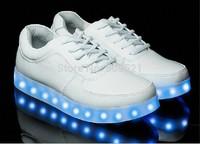 Free Shipping Fashion Shoes  Men and women Sneakers Luminous Shoes USB Charging Light Shoe Lovers LED Shoes Huaraches Sneakers