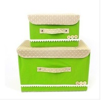 Y095 piece woven storage box storage box finishing box of clothing