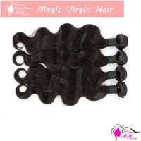 1,2,3 sample Ombre Two Tone#1b/613 Color Brazilian Virgin Human Hair Weave Body Wave Weaving Extension 1 2 3 Bundles