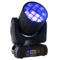 Hot New 10W RGBW 4IN1 12PCS*10W Led Cree Moving Head Moving Head Beam DJ Stage Wash Light