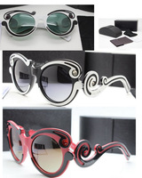 Newest fashion  sunglasses women high quality top brand design sun glasses nice color Pra** 82N