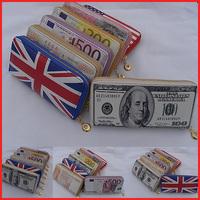 2014 Fashion Creative Wallets Women Clutch Purses Hand Bag Carteira Feminina G01