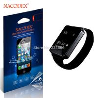 6pcs Nacodex HD Screen Protector Guard Cover Film For LG G WATCH [100% Original] [Retail Box] [Free Shipping]