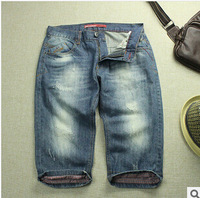 2014 new designer perfumes 100 original men short jeans bermuda shorts man famous brand jeans denim shorts men jenas