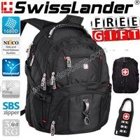 brand SwissLander,Swiss men Laptop backpack,men's laptop bags,notebooks travel back packs 15.6 inch for apple laptops 17''