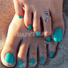 New Hot Trendy Women Toe Rings Silver Number 8 Design Simple Toe Rings Women Brand New