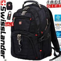 15.6 inch brand SwissLander,swiss army men's Laptop backpack,men's laptop bag,notebook waterproof backpacks for macbook pro 17'