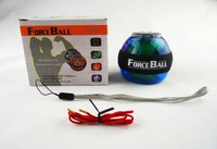 Magic show Force Ball LED Power Ball Gyro Wrist Ball with Speed Meter  CJ290