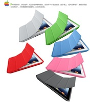 Slim Leather Case For iPad 2 3 4 Smart Case 1:1 Official Original Ultra Slim Flip Stand Cases For Apple iPad 2 3 4 Cover