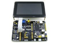 Cubieboard2 Pack C Cubieboard 2 A20 ARM Cortex A7 Dual Core Mini PC + DVK522 expansion Board +7inch LCD +7 Modules