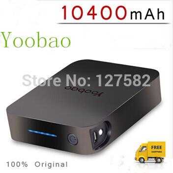 Yoobao YB647 10400mAh Portable Power Bank/External Battery Pack Charger For iPad, iPhone, Amazon Kindle etc free shipping(China (Mainland))
