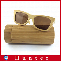 new 2014 fashion free shipping wooden wood bamboo sunglasses polarized lens women men oculos de sol with box brand designer