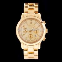 2014 HOT sale men women brand Watch dress Quartz watch luxury fashion sport Stainless steel oversize calendar wristwatch