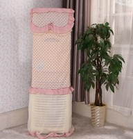 Lace vertical air conditioner cover cabinet air conditioning units condition cover