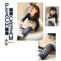 Free shipping !! Retail , New 2014 girls Stretch Skinny  XXX  fashion pattern leggings, for spring/autumn kids pant .L6