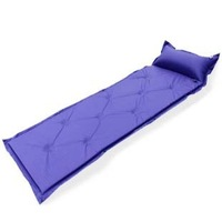 N030 factory direct outdoor nine automatic inflatable mattress pad single person tent sleeping pad can be spliced