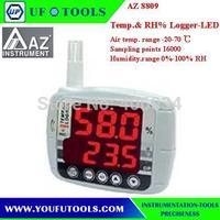 AZ 8809  Desktop Type Digital  Temp.& RH% Logger-LCD