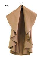 2014 Autumn winter jackets women women coat jacket trench coat Slim sleeveless woolen cloak cape 2E158