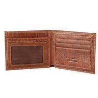 2014 Genuine Leather Brand Brown Men Wallet Carteira Masculina Couro Men Billfold Portefeuille Billeteras Slim Wallets MT-WL0022