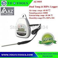 AZ 8835  Desktop Type Digital  Dual Temp./RH% Logger
