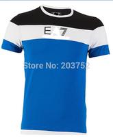 Free Shipping! 2014 new! detonation model of short sleeve POLO shirt menswear short-sleeved t-shirts