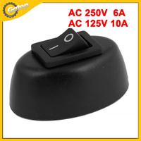 Rocker Switch Car Rocker Switches 10A Rocker Switch Panel Auto Car AC 6A/250V 10A/125V 2 Pin 2 Position Oval Shaped Switch