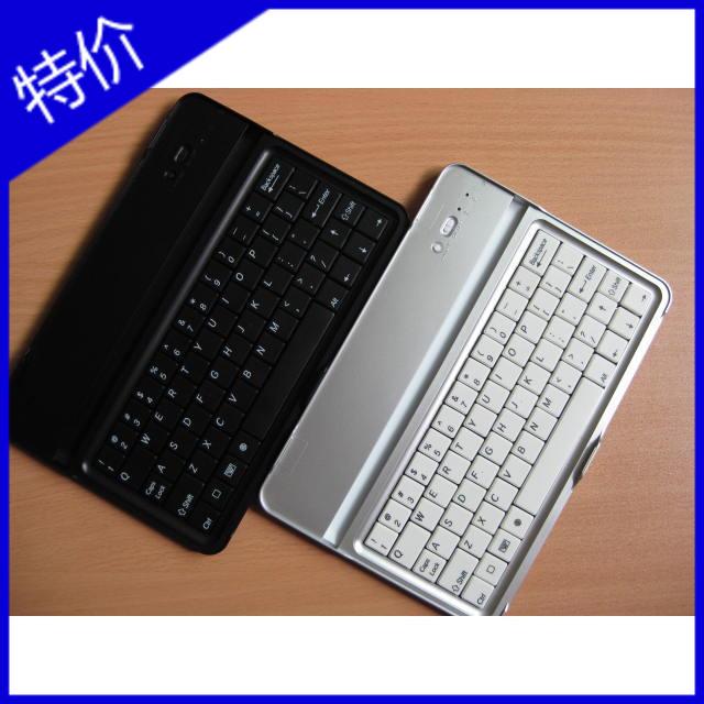 New arrival aluminum alloy shell flat 7 for mini keyboard bluetooth for ipad mini wireless keyboard(China (Mainland))