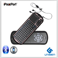 iPazzPort Mini bluetooth touchpad Keyboard For Google TV bluetooth wireless mini keyboard touchpad