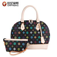 2014 women's spring handbag fashion classic fashion shell bag handbag picture package