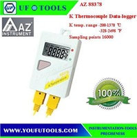 AZ 88378 Desktop Type Digital Thermocouple  Dual K Logger