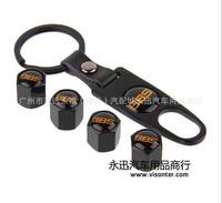 4pcs BM* X1, X3, X5, M3, M5 E39,E36, E46 BBS Logo  auto Wheel Tire Valve Stem Air Caps Covers set with car Key chain