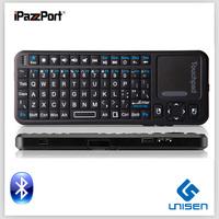 Cheap ! Free Shipping iPazzPort mini wireless bluetooth silicone keyboard wireless keyboard for lg smart tv