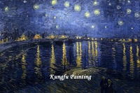 van012 100% handmade good quality famous artists van gogh oil painting reproductions on canvas