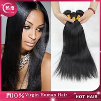 Brazilian Virgin Hair Straight 3pcs/lot Hot Hair Product Brazilian Virgin Human Hair Weave Best Quality Hair Extension