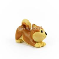 Resin mini Shiba Inu outdoor dog decoration