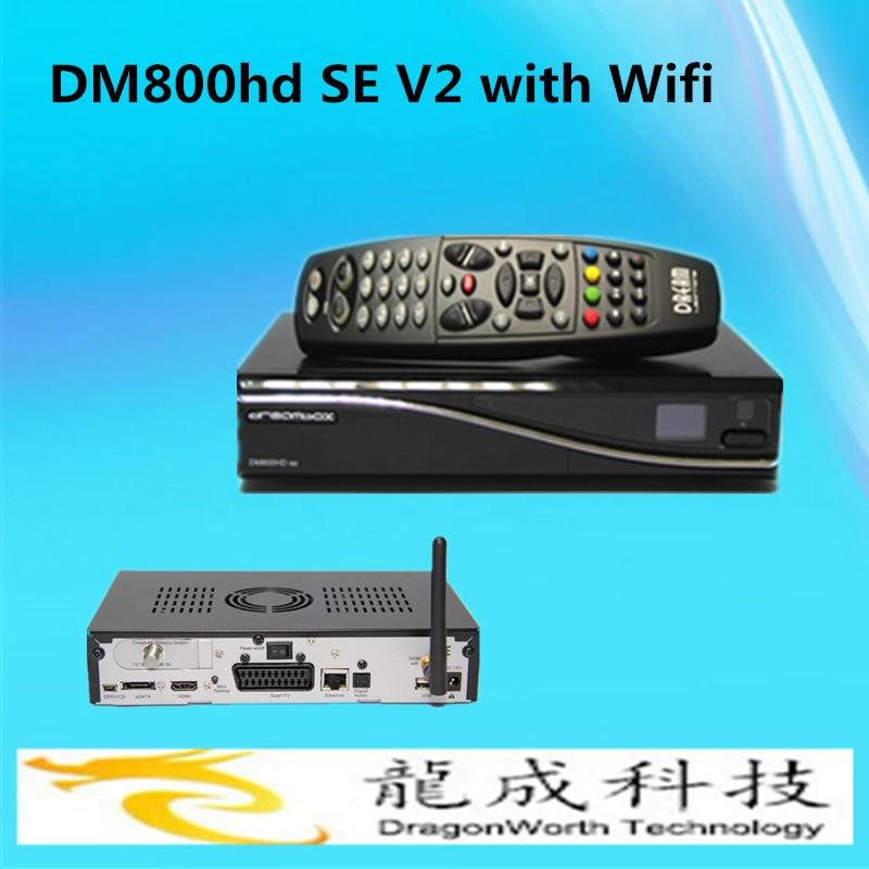 E motherbaord sim2.2 DM 800HD SE V2 Newest Tv Decoder DM800 HD SE V2 wifi Digital Linux satellite receiver DM800HD SE V2(China (Mainland))