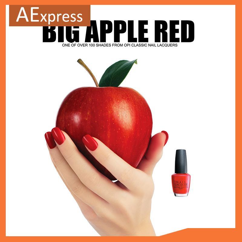 Wholesale Free Shipping, New Arrival, Nail Care, Big Apple Red Shellac Nail Polish, 200 Colors in Stock, Wholesale 126pcs/lot(China (Mainland))