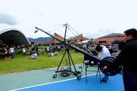 960cm  camera jib arm,jib crane, jib crane with motorized 3-axis remote head