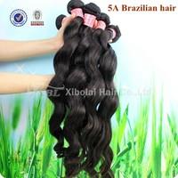 XBL Virgin Hair Wet and Wavy Virgin Brazilian Hair 4pcs/lot Brazilian Virgin Hair Loose Wave Free Shipping Brazillian Hair Weft