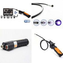 HD 720P Wireless WIFI Endoscope Inspection Borescope Snake Tube Camera Support Smartphone