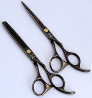 "6.0"" Joewell Hair Cutting Scissors Japanese Professional Barber Hair Salon Shears Thinning Scissor Set"