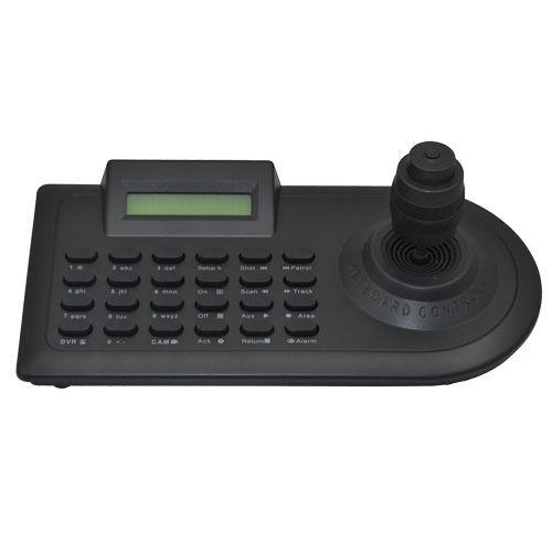 CCTV 4 Axis LCD DISPLAY PTZ Dome Security Camera RS-485 Keyboard Controller(China (Mainland))