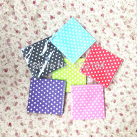 Free Shipping 160pcs/Lot Colorful   Polka Dot Paper Napkins Napkins With Patterns  For Photography Props Wedding