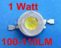 HIgh Power LED 50pcs/lot 1 Watt Taiwan Chip 100-110lm Power LED