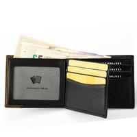 2014 Luxury Designer Real Cow Leather Men's Wallet Dollar Price Monedero Men Carteira De Couro Mens Wallets MT-WL-0021