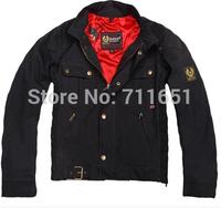 Bel staff  Men's Fashion High Quality Jacket Motorcycle Jacket Coat Size S-XXXL