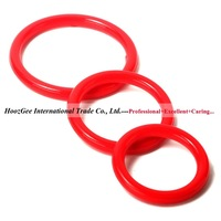 Silicone Ring Adult Toys Sex Product Sextoys Penis Ring For Man Rainbow Silicone Cock Rings 3Pcs/Pack PQ-008