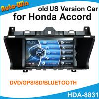 Car GPS DVD Player for Honda Accord Old US Version Car Radio Audio Player Car Navigation Audio Multi-Media System